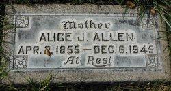 Alice Julietta Julia <i>Goltry</i> Allen