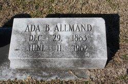 Ada <i>Burkhalter</i> Allmand