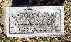 Carolyn Jane Alexander