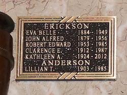Eva Belle <i>Stewart</i> Erickson