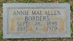 Annie Mae <i>Allen</i> Borders