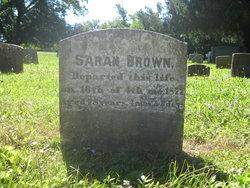 Sarah <i>Piggott</i> Brown