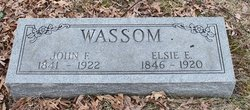 Elsie E. <i>Pyle</i> Wassom