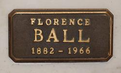 Florence Ball