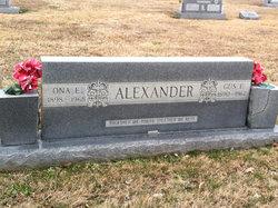 Ona E. Alexander