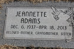 Jeannette <i>Keithley</i> Adams