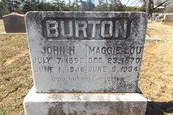 Maggie Lou <i>Wilks</i> Burton