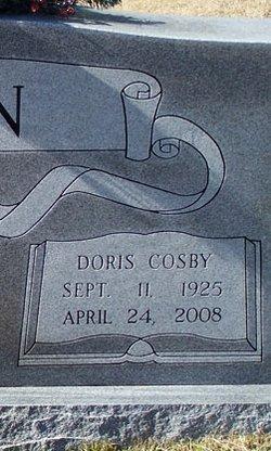 Doris Elizabeth <i>Cosby</i> Brown