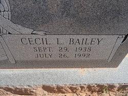 Cecil Lee <i>Dunlap</i> Bailey
