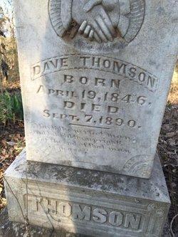 Thomas David Dulaney Dave Thomson