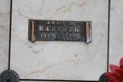 Arlo LeRoy Babcock