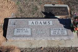 Clinton Bud Adams