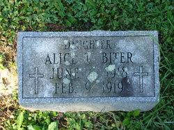 Alice T. Biter