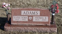 Estel Alma <i>Watson</i> Adams
