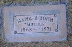 Anna Belle <i>Etter</i> Bivin
