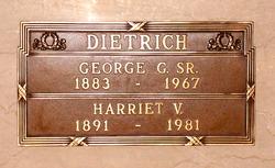 George Gustave Dietrich, Sr