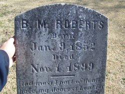 Bruce M Roberts