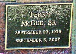 Terrance Scott Terry McCue, Sr