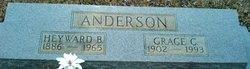Heyward B Anderson