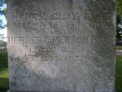 Col Herbert Merton Enos