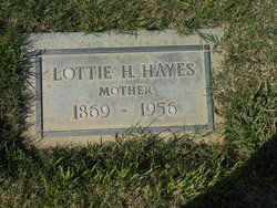 Lottie H <i>Ward</i> Hayes