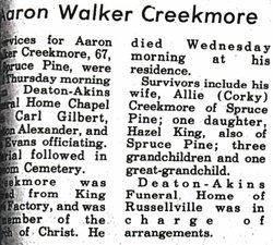 Aaron Creekmore