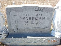 Lillie Mae <i>Garrett</i> Sparkman
