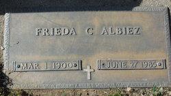 Frieda C Albiez