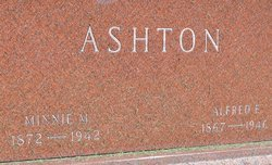 Minnie M Ashton