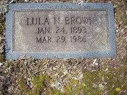 Lula Frances <i>Newman</i> Brown