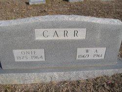 Mary Onie <i>Mitchell</i> Carr