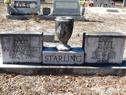 Sarah <i>Garrett</i> Starling