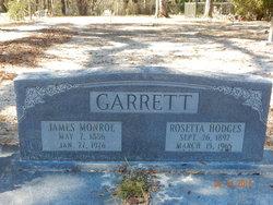 James Monroe Monroe Garrett