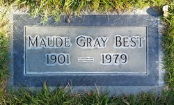 Maude Blanche <i>Gray</i> Best