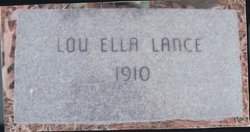 Lou Ella Lance