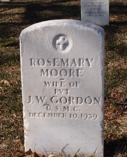 Rosemary <i>Moore</i> Gordon