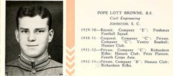 1Lt Pope Lott Browne