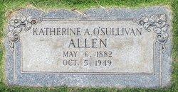 Katherine Ann <i>O'Sullivan</i> Allen