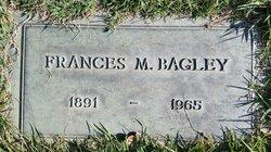 Frances M Bagley