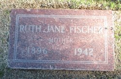 Ophelia Jane Ruth <i>Harney</i> Fischer