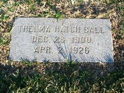 Thelma <i>Hatch</i> Ball