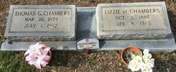 Lizzie M. <i>Whisnant</i> Chambers