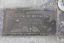 Walter H. Reckling