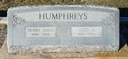 Alice Ophelia <i>Parker</i> Humphreys