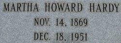 Martha (Mattie) <i>Howard</i> Hardy