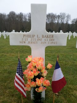 2Lt Philip L Baker