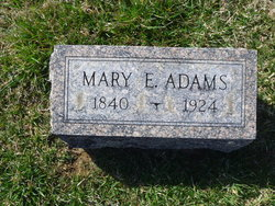 Mrs Mary E. Adams