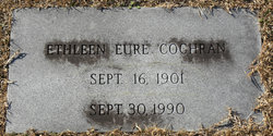 Ethleen E. <i>Eure</i> Cochran