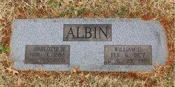 William D Albin