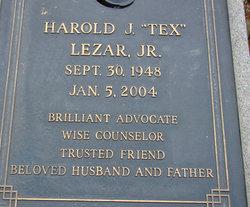 Harold J. Tex Lezar